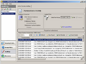 Active Directory Audit