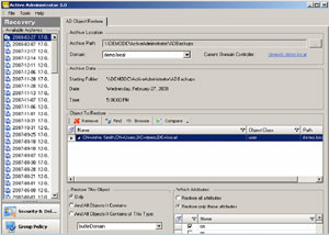 Active Directory Recovery